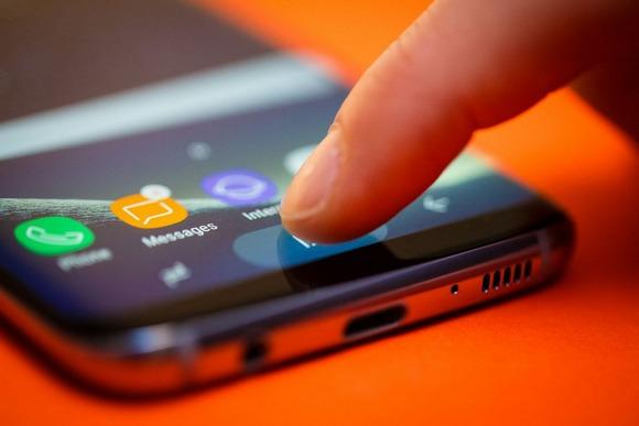 Новинки Samsung Galaxy S8-управление