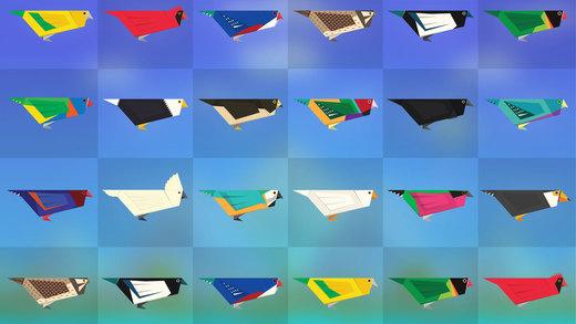 Топ-10 приложений для iOS и Android (27 марта - 2 апреля) - Paper Wings (2)