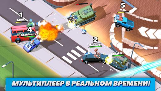 Топ-10 приложений для iOS и Android (27 марта - 2 апреля) - Crash of Cars (1)