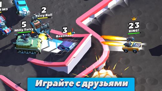Топ-10 приложений для iOS и Android (27 марта - 2 апреля) - Crash of Cars (2)