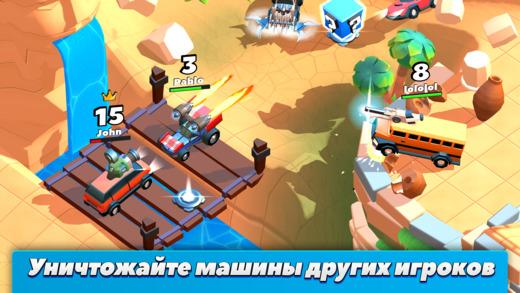 Топ-10 приложений для iOS и Android (27 марта - 2 апреля) - Crash of Cars (3)