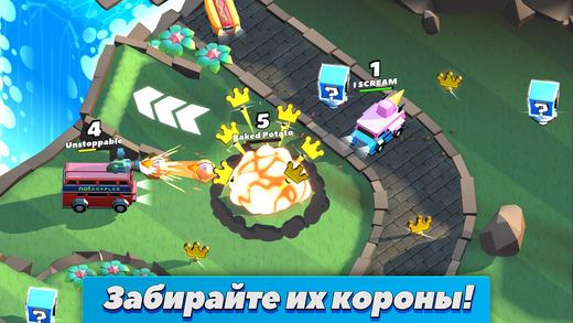 Топ-10 приложений для iOS и Android (27 марта - 2 апреля) - Crash of Cars (4)