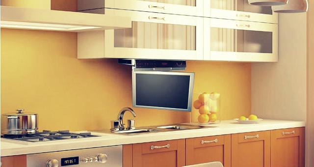 Выбираем телевизор или Как не попасть на маркетинговую «удочку» - Телевизор для кухни