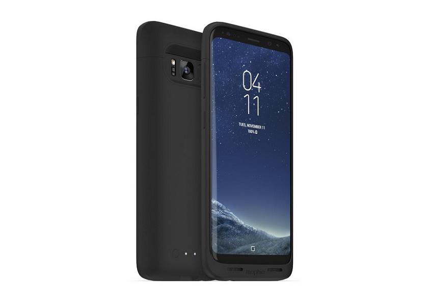 Mophie juice pack: чехол с батареей и беспроводной зарядкой для Galaxy S8
