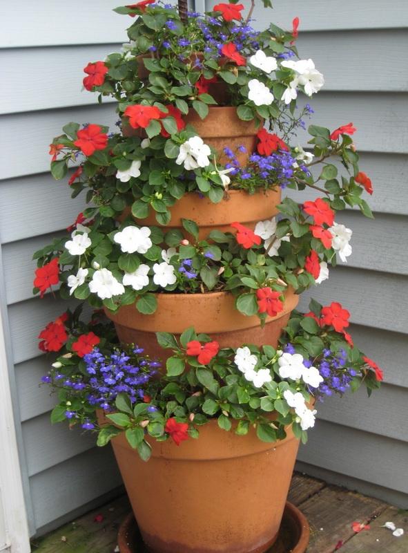Вертикальное озеленение-варианты для маленького сада фото 8