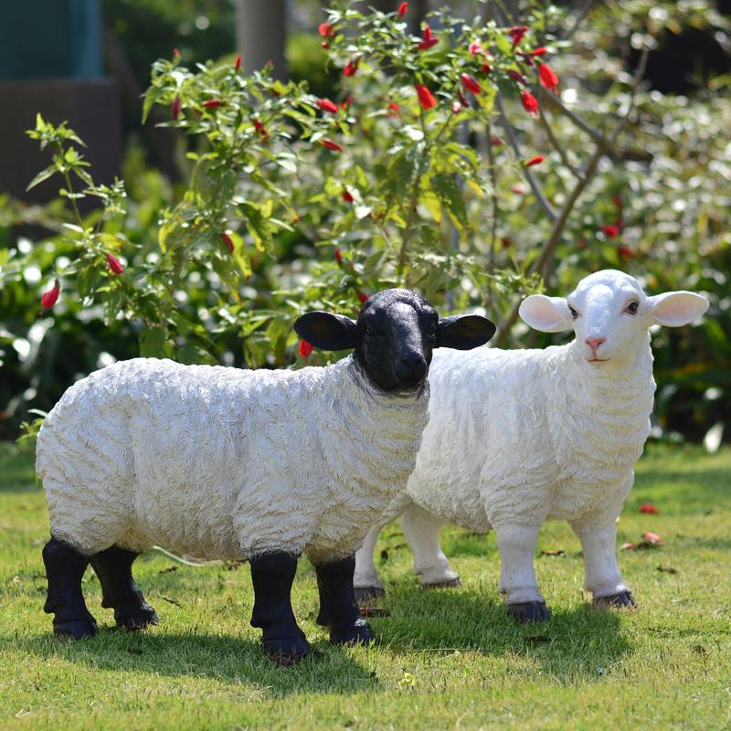 Садово-парковые фигуры и скульптуры-овцы