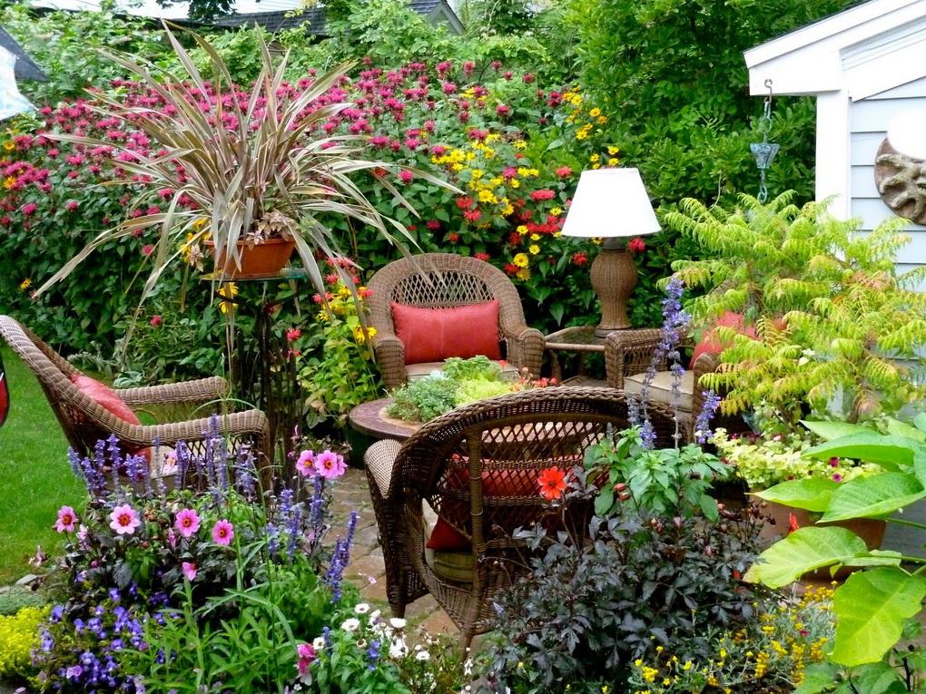 Пейзажный сад по-английски-фото