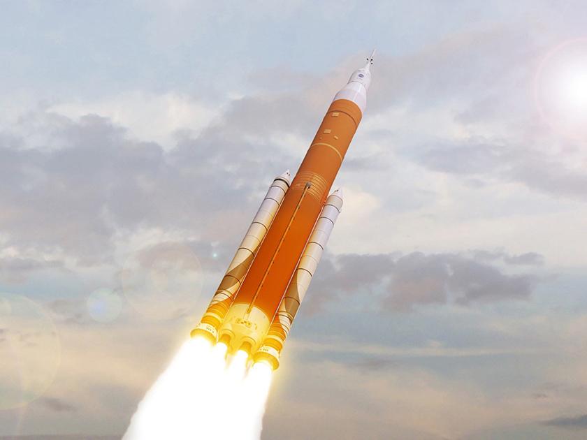 NASA не будет отправлять людей в космос при первом запуске своей новой ракеты