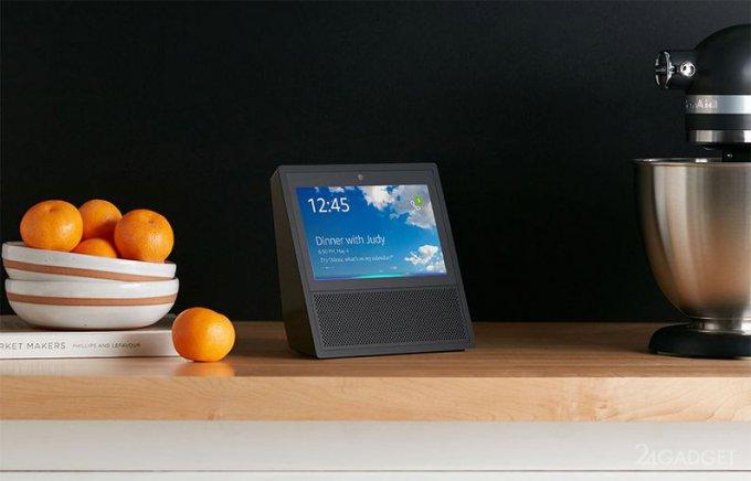 Amazon Echo Show — смарт-динамик с сенсорным дисплеем (7 фото + видео)