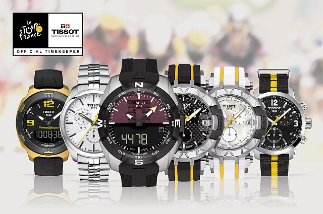 История часового бренда Tissot сделано в Швейцарии – Часы для Tour de France