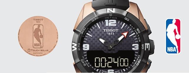 История часового бренда Tissot сделано в Швейцарии – Часы Tissot NBA