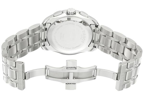 История часового бренда Tissot сделано в Швейцарии – Tissot Couturier Quartz сзади