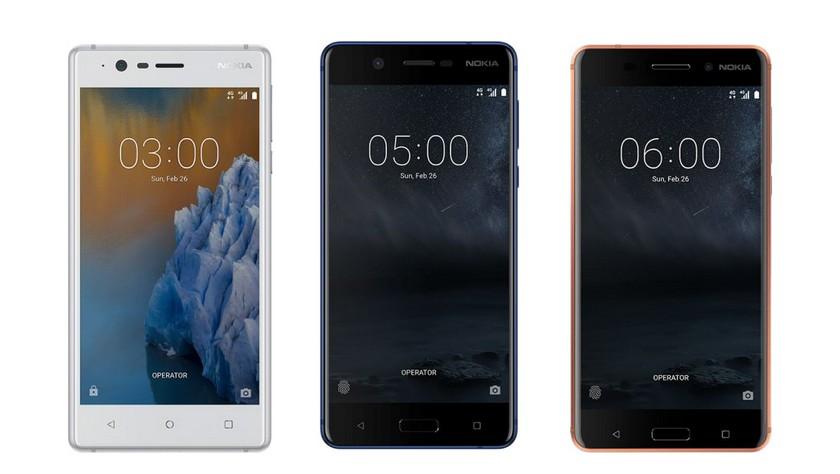 Старт продаж новой Nokia 3310 и российские цены Nokia 3, 5, 6