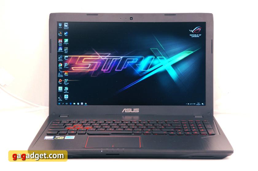 Обзор геймерского ноутбука ASUS FX553VD-2