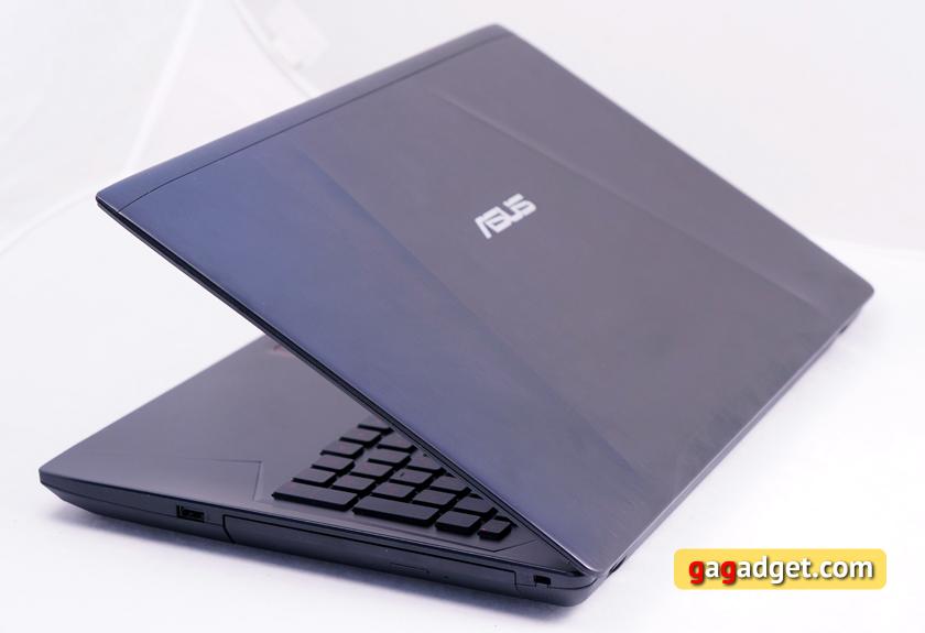 Обзор геймерского ноутбука ASUS FX553VD-11