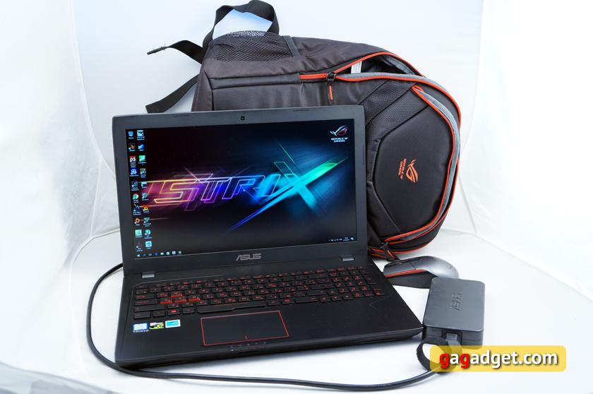 Обзор геймерского ноутбука ASUS FX553VD-4