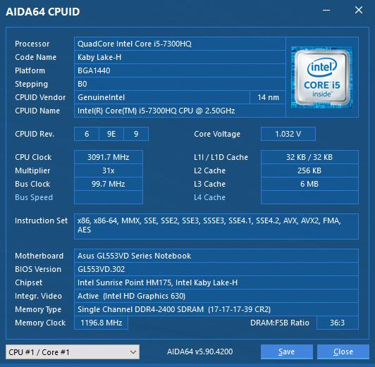 Обзор геймерского ноутбука ASUS FX553VD-42