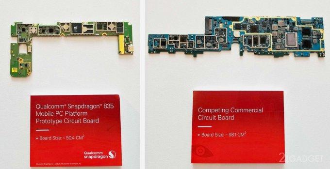 ASUS, HP и Lenovo займутся выпуском ПК на Snapdragon 835 и Windows 10 (3 фото + видео)