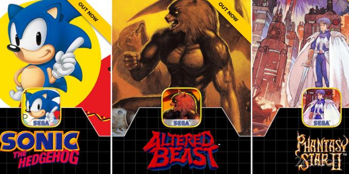 Вспомни детство: владельцы гаджетов могут поиграть в старые игры для Sega (видео)