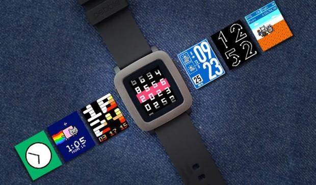 Смарт-часы Alcatel, Pebble и TomTom обзор популярных моделей – Pebble Time экран