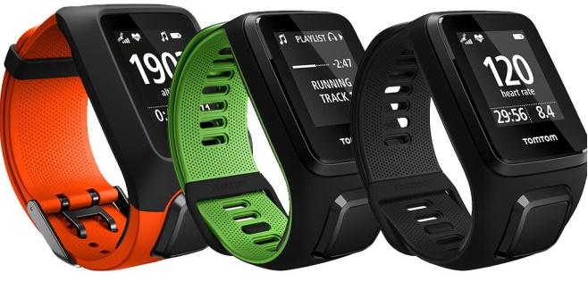 Смарт-часы Alcatel, Pebble и TomTom обзор популярных моделей – TomTom Runner 3 цвета