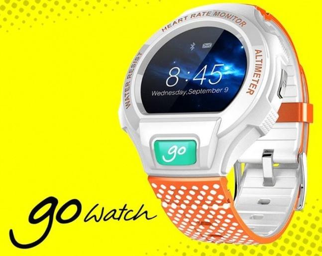 Смарт-часы Alcatel, Pebble и TomTom обзор популярных моделей – Alcatel One Touch Go Watch промо