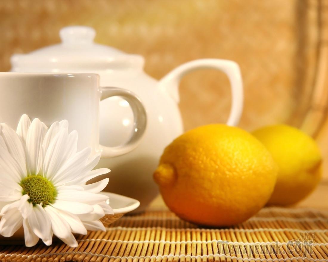 Как очистить чайник от накипи - лимон