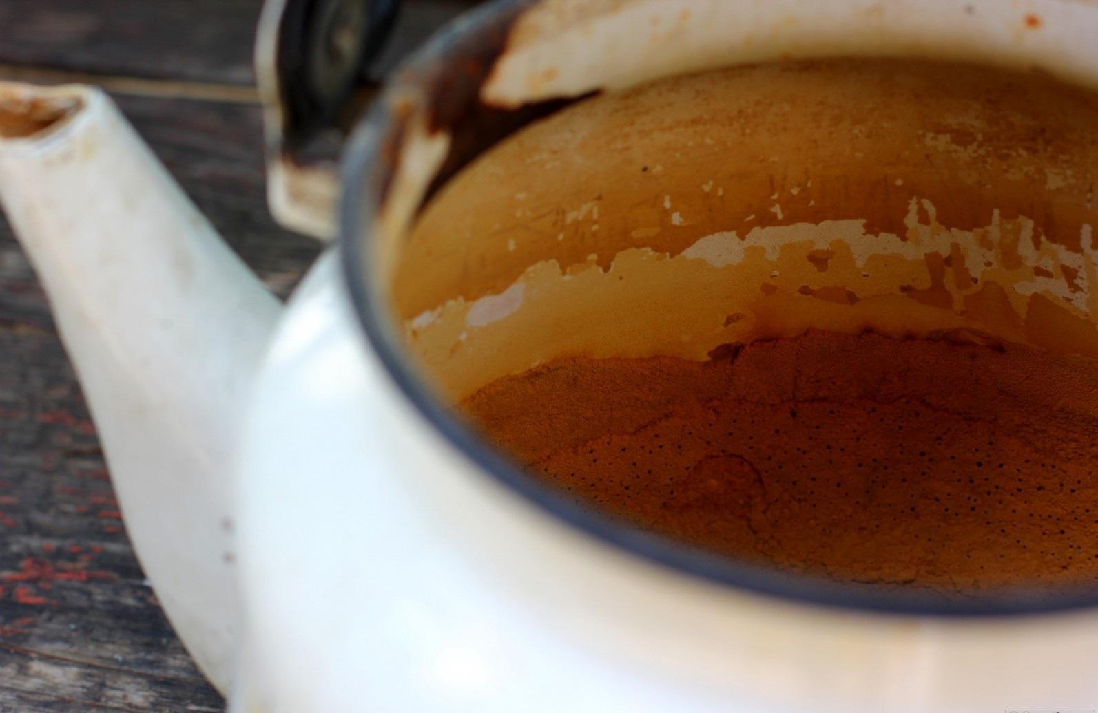 Как очистить чайник от накипи – накипь