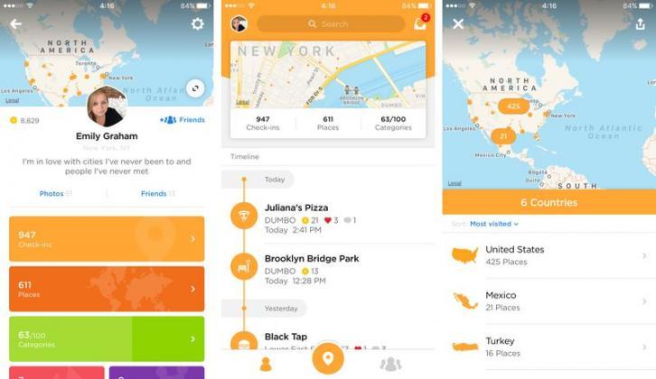 Foursquare провел редизайн приложения Swarm - фото 1