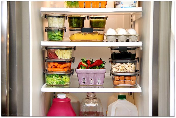 Как правильно хранить продукты в холодильнике удивительно просто, безумно актуально – Пища в контейнерах