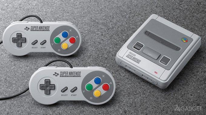 Nintendo выпустит осенью сразу две версии ретро-приставки (3 фото + видео)