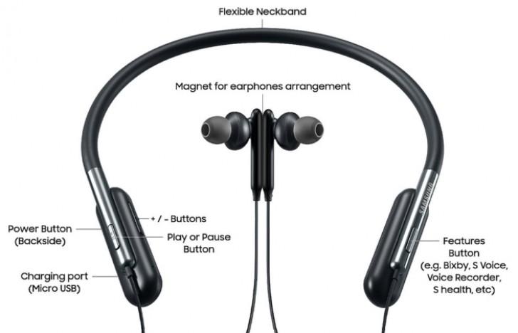 Компания Samsung представила гибкие Bluetooth-наушники U Flex – фото 2