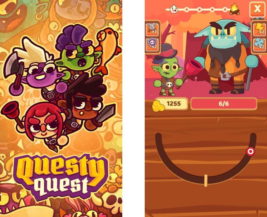 Топ-10 приложений для iOS и Android (7 - 13 августа) - Questy Quest (1)