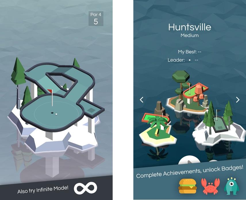 Топ-10 приложений для iOS и Android (7 - 13 августа) - Vista Golf (3)