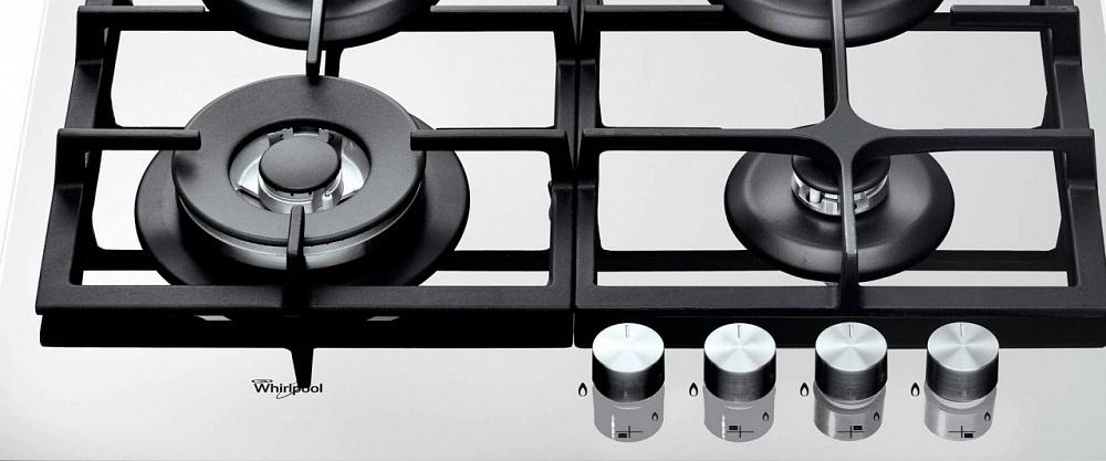 Топ-10 лучших варочных поверхностей — рейтинг Алло – Whirlpool GOA 6425WH управление