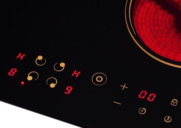 Топ-10 лучших варочных поверхностей — рейтинг Алло – Pyramida VCH 6401 UCC управление