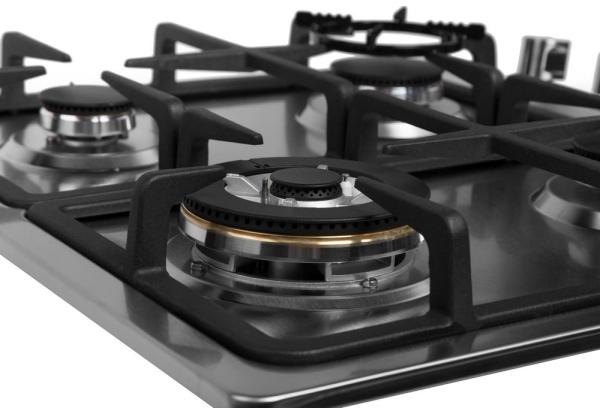 Топ-10 лучших варочных поверхностей — рейтинг Алло – Gunter&Hauer GH 606 IX конфорки