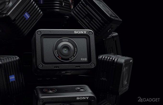 Экшн-камера Sony RX0 для экстремальных условий работы