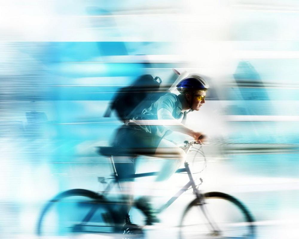 Велосипедист-скорость