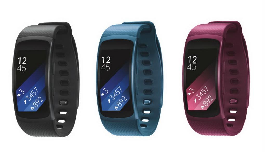 Samsung Gear Fit2-расцветки