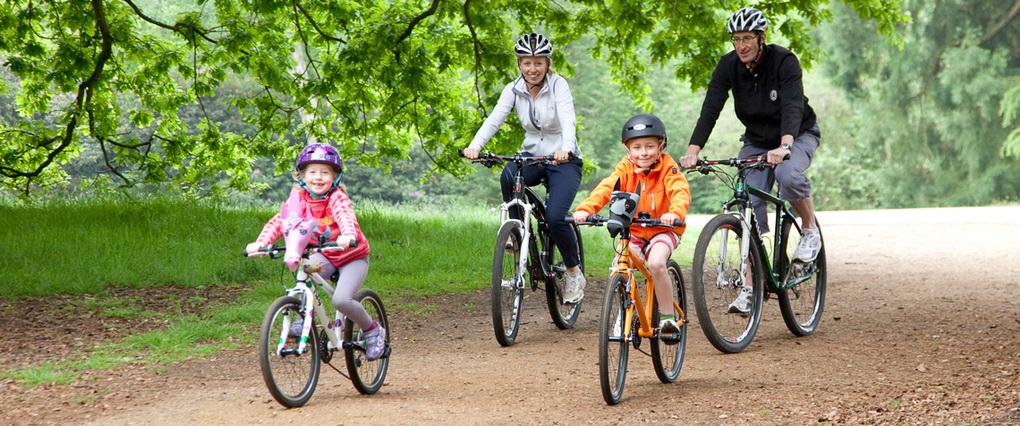 Велосипед всей семьей-объединяющий досуг