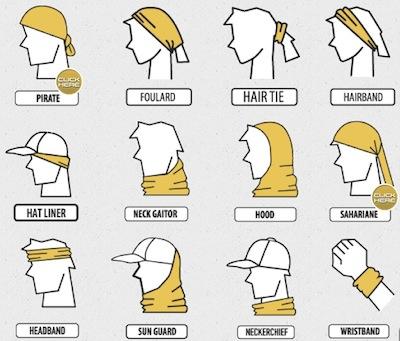 Как носить бафф-фото