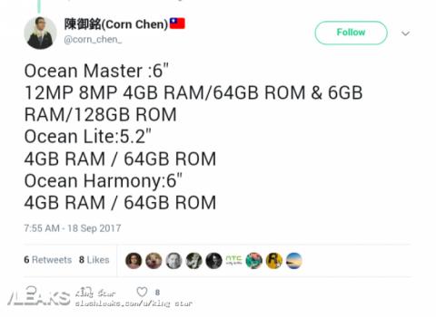 HTC Ocean Master