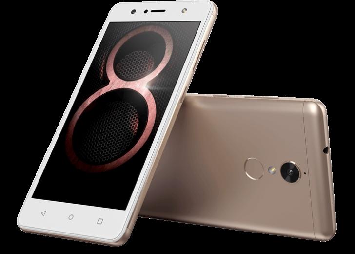 Lenovo официально представила смартфон K8 - фото 3