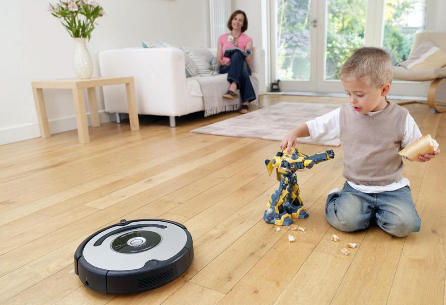 Робот-пылесос — верный помощник по уборке – Детский конструктор