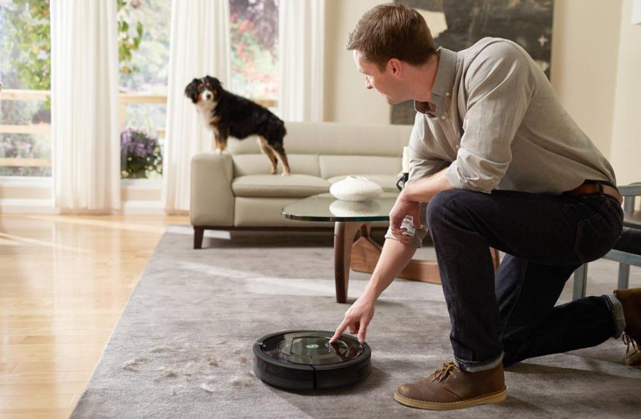 Робот-пылесос — верный помощник по уборке – Шерсть на ковре