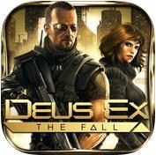 Топ-10 приложений для iOS и Android (11 - 17 сентября) - Deus Ex. The Fall Logo