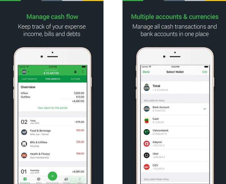 Топ-10 приложений для iOS и Android (11 - 17 сентября) - Money Lover (1)