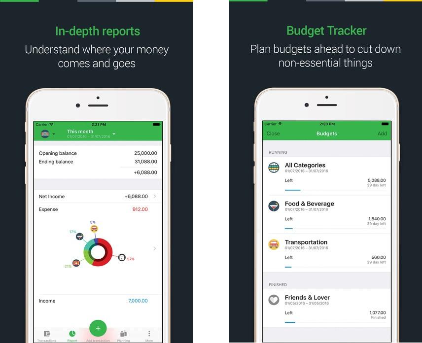 Топ-10 приложений для iOS и Android (11 - 17 сентября) - Money Lover (3)