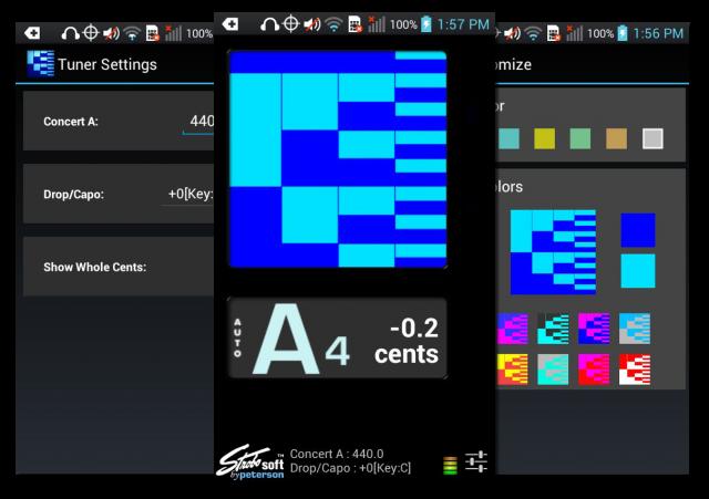 Лучшие Android-приложения для гитаристов - Peterson iStroboSoft Tuner